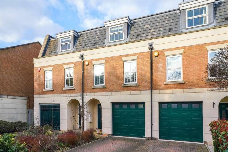 4 Bedrooms Terraced House for sale in Castle Mews, Weybridge, Surrey, KT13
