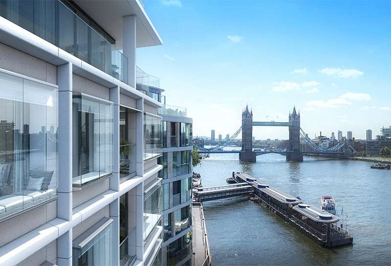 1 Bedroom Apartment Flat for sale in Landmark Place, Tower Bridge, Tower Hill, London, EC3R