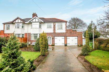 3 Bedrooms Semi Detached House for sale in Dalefords Lane, Whitegate, Northwich, Cheshire