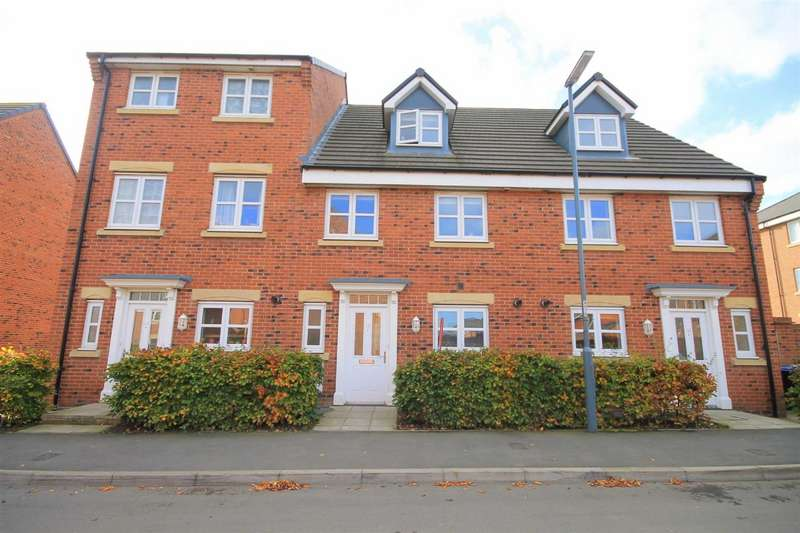 4 Bedrooms Town House for sale in Hutton Way, Framwellgate Moor, Durham