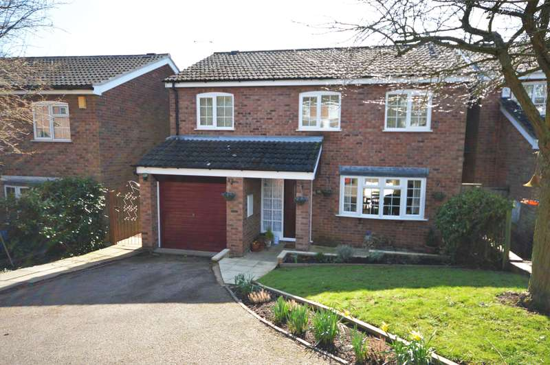 4 Bedrooms Detached House for sale in Bambrook Close, Desford, Leicester, LE9 9FY