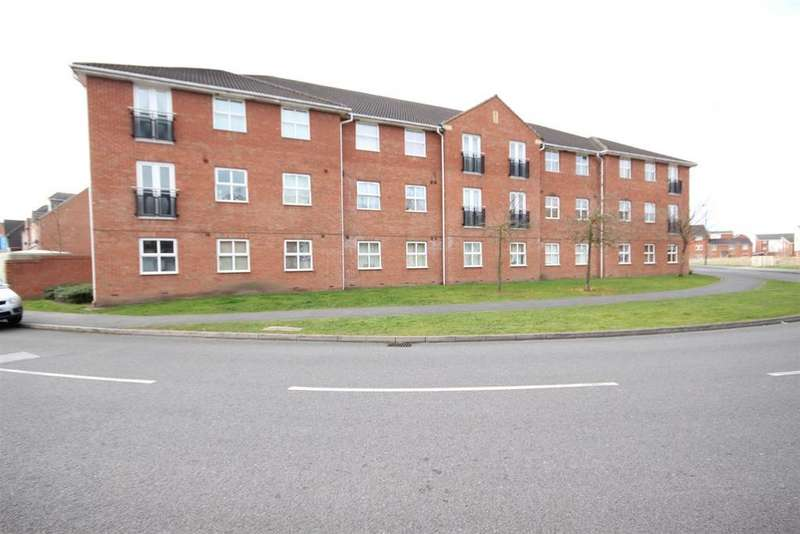 2 Bedrooms Apartment Flat for sale in Welland Road, Hilton, Derby