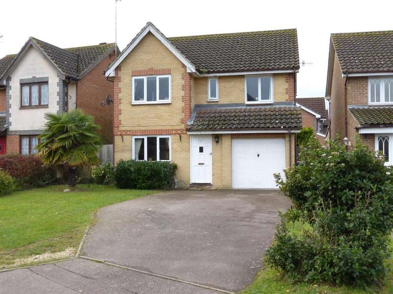 4 Bedrooms Detached House for sale in Sinclair Close, Maidenbower, Crawley