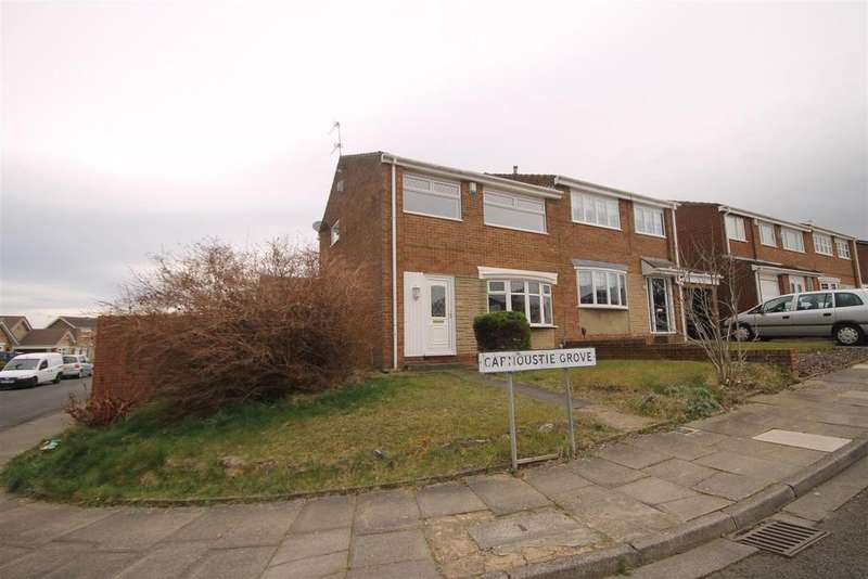 3 Bedrooms Semi Detached House for sale in Carnoustie Grove, Clavering, Hartlepool