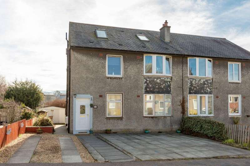 3 Bedrooms Maisonette Flat for sale in 114 Carrick Knowe Road, EH12 7BW