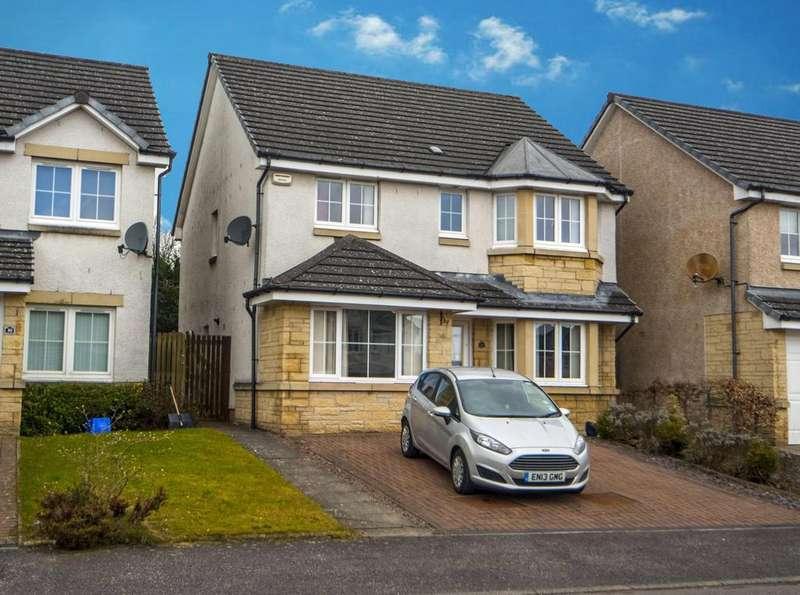 5 Bedrooms Detached House for sale in Crozier Crescent, Larbert, Falkirk FK5
