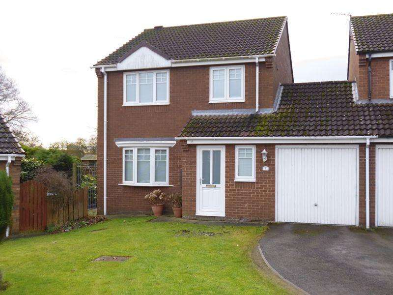 3 Bedrooms Link Detached House for sale in Neville Close, Evenwood