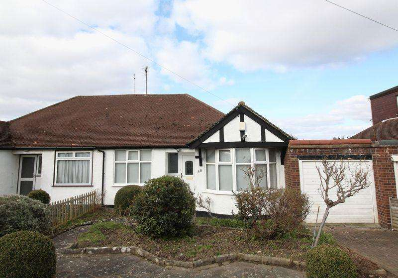 3 Bedrooms Semi Detached Bungalow for sale in Haslemere Avenue, East Barnet