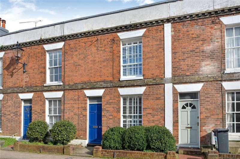 2 Bedrooms Terraced House for sale in Parchment Street, Winchester, Hampshire, SO23