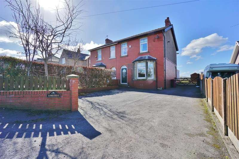 3 Bedrooms Semi Detached House for sale in Whalley Road, Pendleton, Clitheroe