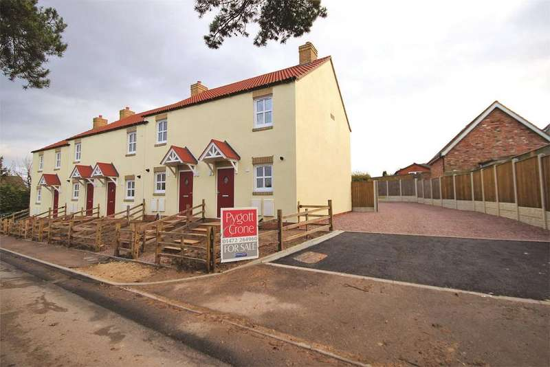 2 Bedrooms End Of Terrace House for sale in Mill Cottages, Mill Lane, DN41