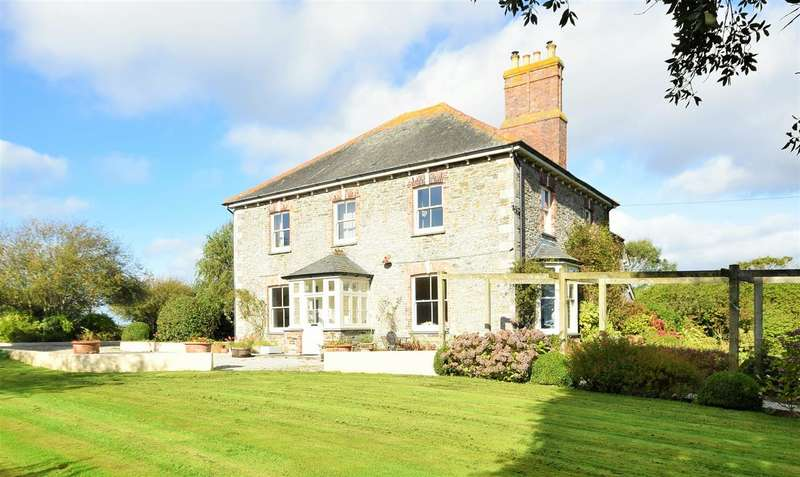 5 Bedrooms Detached House for sale in Nr Portscatho, Cornwall, TR2