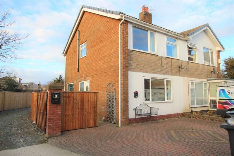 3 Bedrooms Semi Detached House for rent in Belvedere Road, Thornton Cleveleys FY5