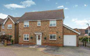 4 Bedrooms Detached House for sale in Charlock Drive, Minster, Sheerness, Kent