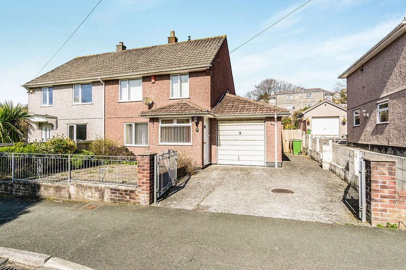 3 Bedrooms Semi Detached House for sale in Hele Gardens, Plymouth, PL7