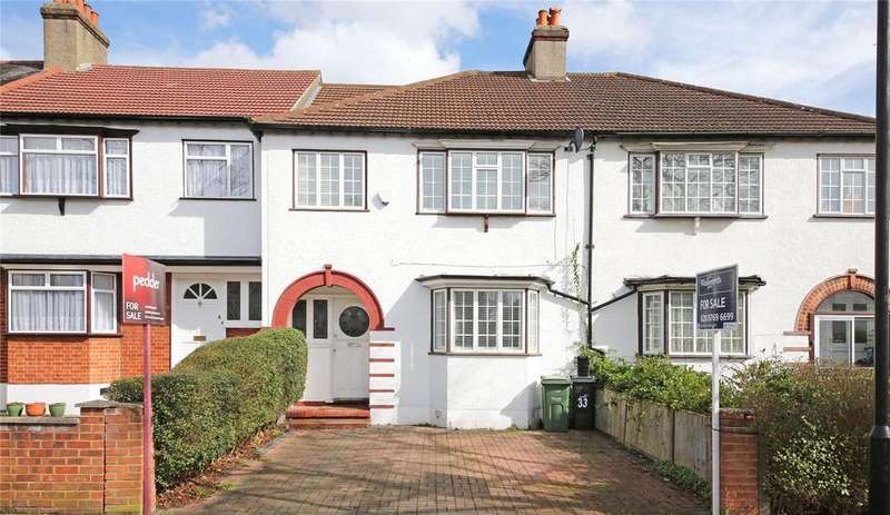 3 Bedrooms Terraced House for sale in Fontaine Road, Streatham, SW16
