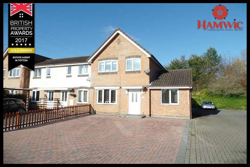 3 Bedrooms End Of Terrace House for sale in Springfield Drive, Ashurst Bridge, Southampton SO40