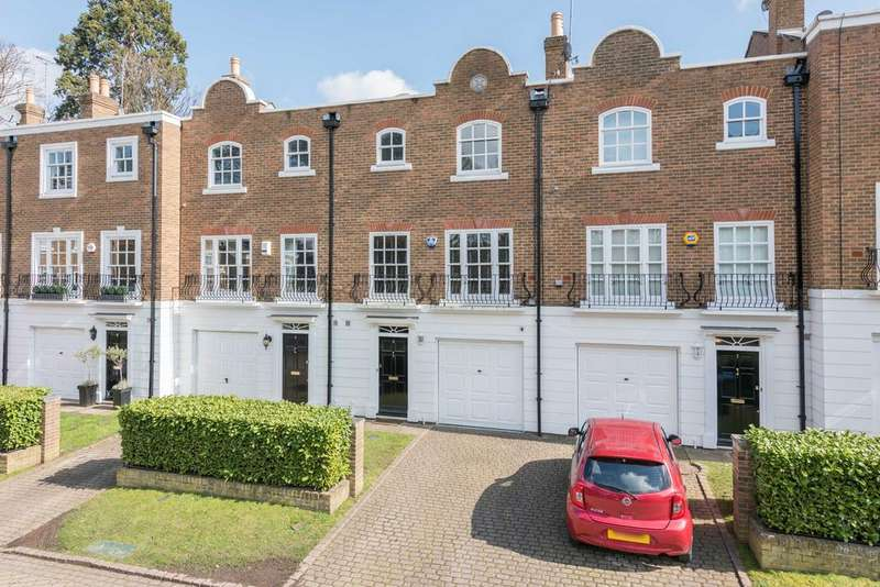 4 Bedrooms Town House for sale in Grosvenor Place, Vale Road, Weybridge KT13