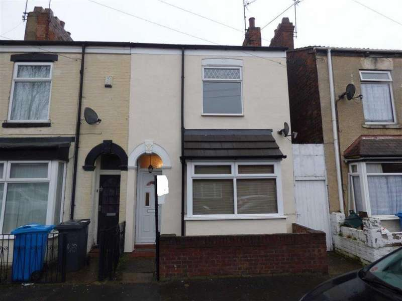 2 Bedrooms End Of Terrace House for sale in Severn Street, Hull, East Yorkshire, HU8