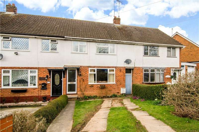 3 Bedrooms Terraced House for sale in Mason Road, Redditch, Worcestershire, B97