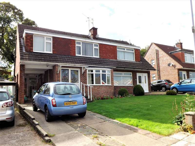 4 Bedrooms Semi Detached House for sale in Carisbrooke Way, Cardiff