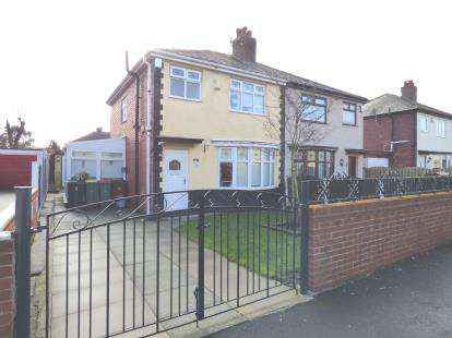 3 Bedrooms Semi Detached House for sale in Sulby Drive, Ribbleton, Preston, Lancashire, PR2