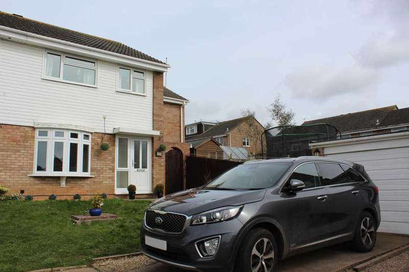 4 Bedrooms Semi Detached House for sale in Hollymount Close, Exmouth