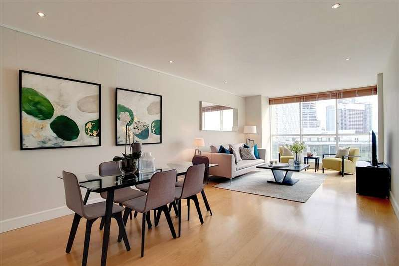 2 Bedrooms Flat for sale in Belgrave Court, Canary Riverside, Westferry Circus, London, E14