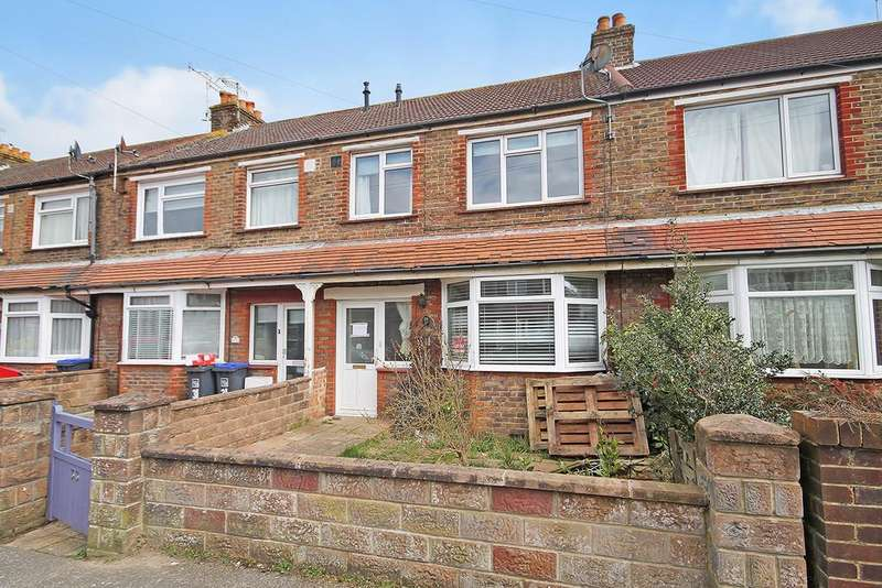 3 Bedrooms Terraced House for sale in Bruce Avenue, Worthing, West Sussex BN11 5JU