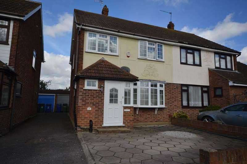 3 Bedrooms Semi Detached House for sale in Balstonia Drive, Stanford-le-Hope, SS17