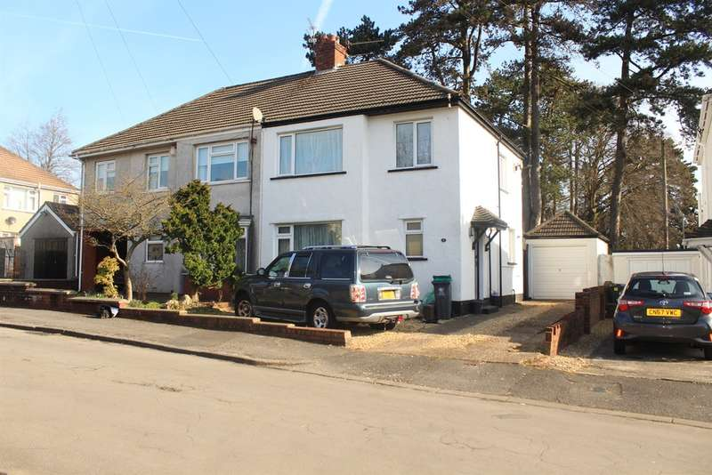 3 Bedrooms Semi Detached House for sale in Clos Fach, Cardiff