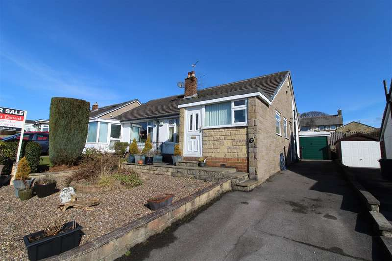 2 Bedrooms Semi Detached Bungalow for sale in Norton Close, Halifax
