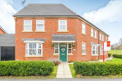 4 Bedrooms Semi Detached House for sale in Missouri Drive, Great Sankey, Warrington, Cheshire