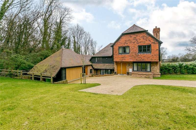 5 Bedrooms Detached House for sale in Steep Road, Crowborough, East Sussex