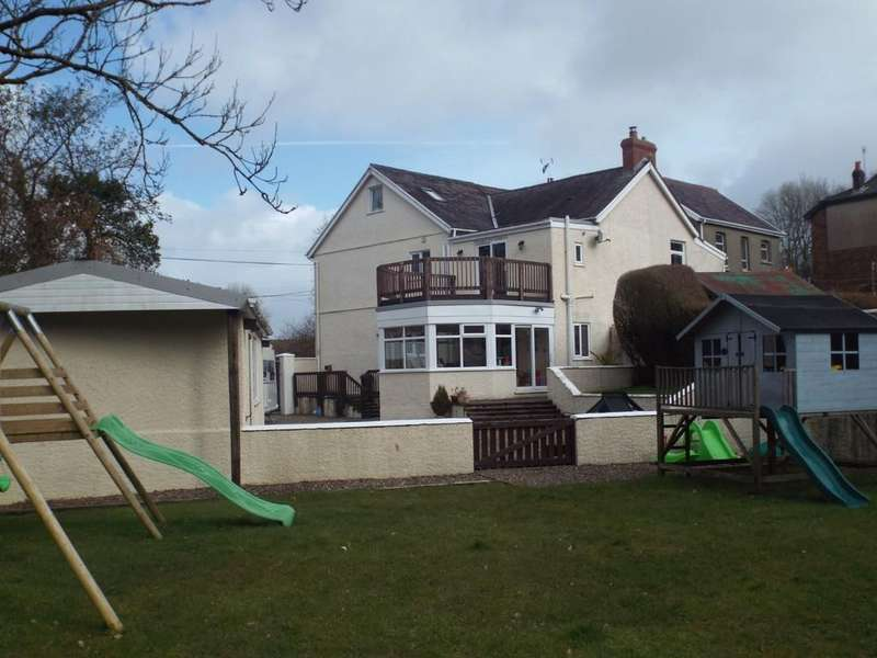 4 Bedrooms Semi Detached House for sale in Llannon Road, Pontyberem