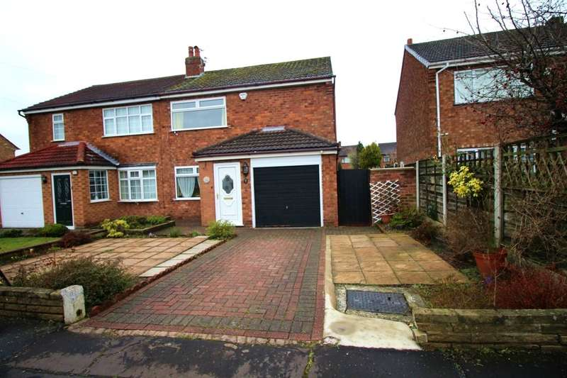 3 Bedrooms Semi Detached House for sale in Fawborough Road, Manchester, M23