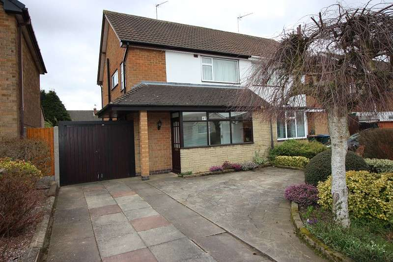 3 Bedrooms Semi Detached House for sale in Rosslyn Avenue, Coundon, Coventry, Warwickshire. CV6 1GL