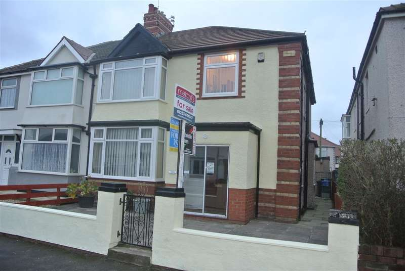 4 Bedrooms Semi Detached House for sale in Coronation Road, Thornton-Cleveleys