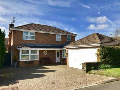 4 Bedrooms Detached House for sale in Church Lane, Downend, Bristol
