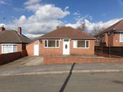 2 Bedrooms Bungalow for sale in Louwil Avenue, Mansfield Woodhouse, Mansfield, Nottinghamshire