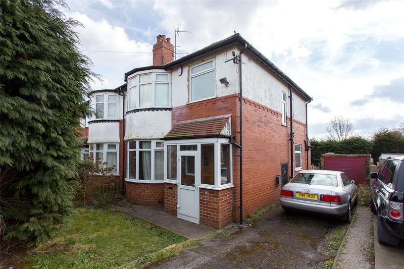 3 Bedrooms Semi Detached House for sale in Chandos Gardens, Leeds, West Yorkshire, LS8
