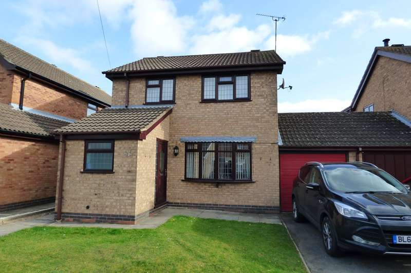 3 Bedrooms Link Detached House for sale in Alice Close, Bedworth, CV12