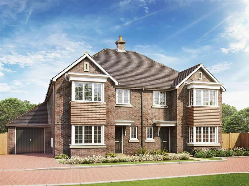 4 Bedrooms Semi Detached House for sale in Stanton Lodge Gardens, Shelvers Way, Tadworth