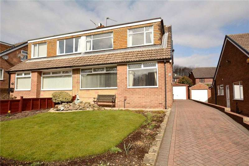 3 Bedrooms Semi Detached House for sale in Ravens Mount, Pudsey, West Yorkshire
