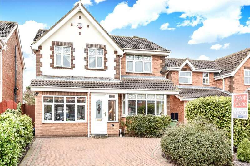 4 Bedrooms Detached House for sale in Wyndham Road, New Waltham, DN36