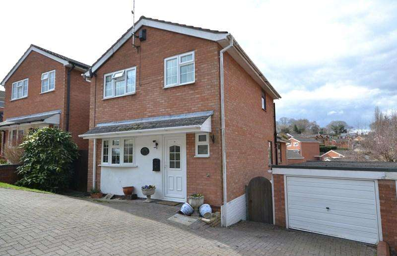 3 Bedrooms Detached House for sale in Woodthorpe Drive, Bewdley