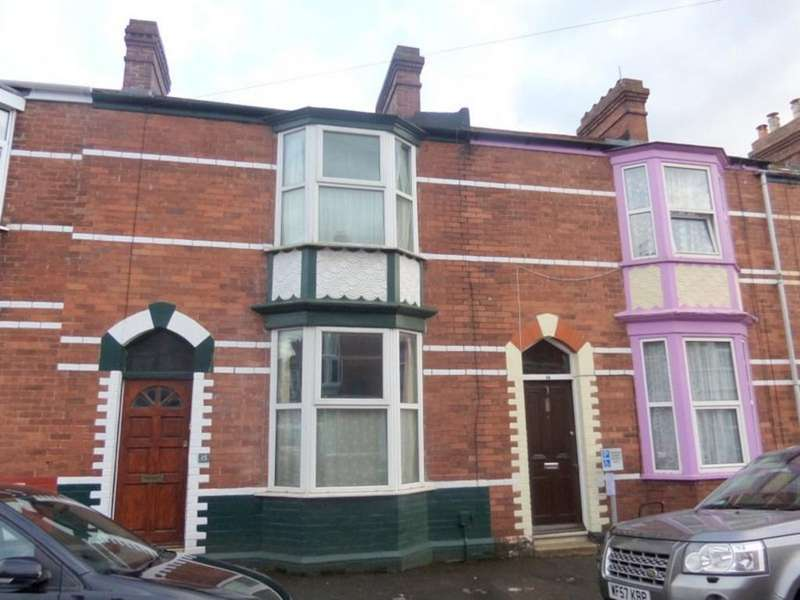 2 Bedrooms Terraced House for sale in Mansfield Road, Exeter