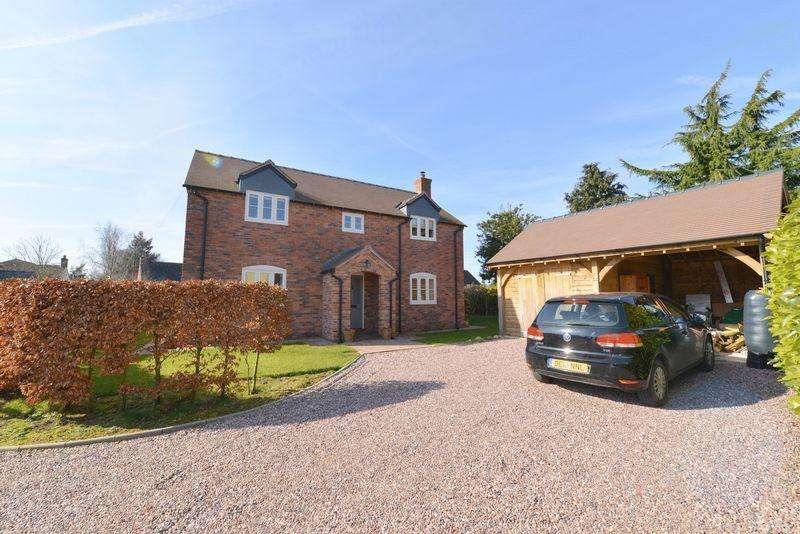3 Bedrooms Detached House for sale in Chapel Lane, Norton In Hales, Market Drayton