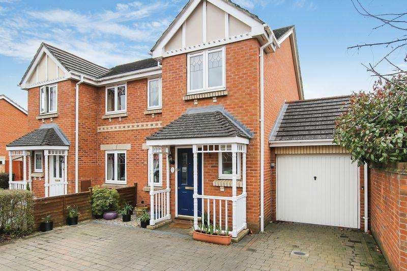 3 Bedrooms Semi Detached House for sale in Centurion Way, Hereford