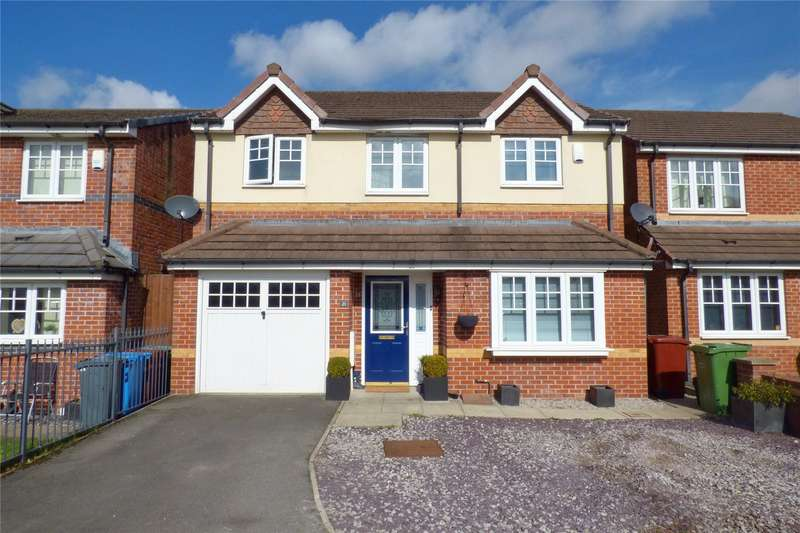 4 Bedrooms Detached House for sale in Caspian Road, Blackley, Manchester, M9